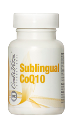Sublingual CoQ10 with natural lemon flavor - suplement diety
